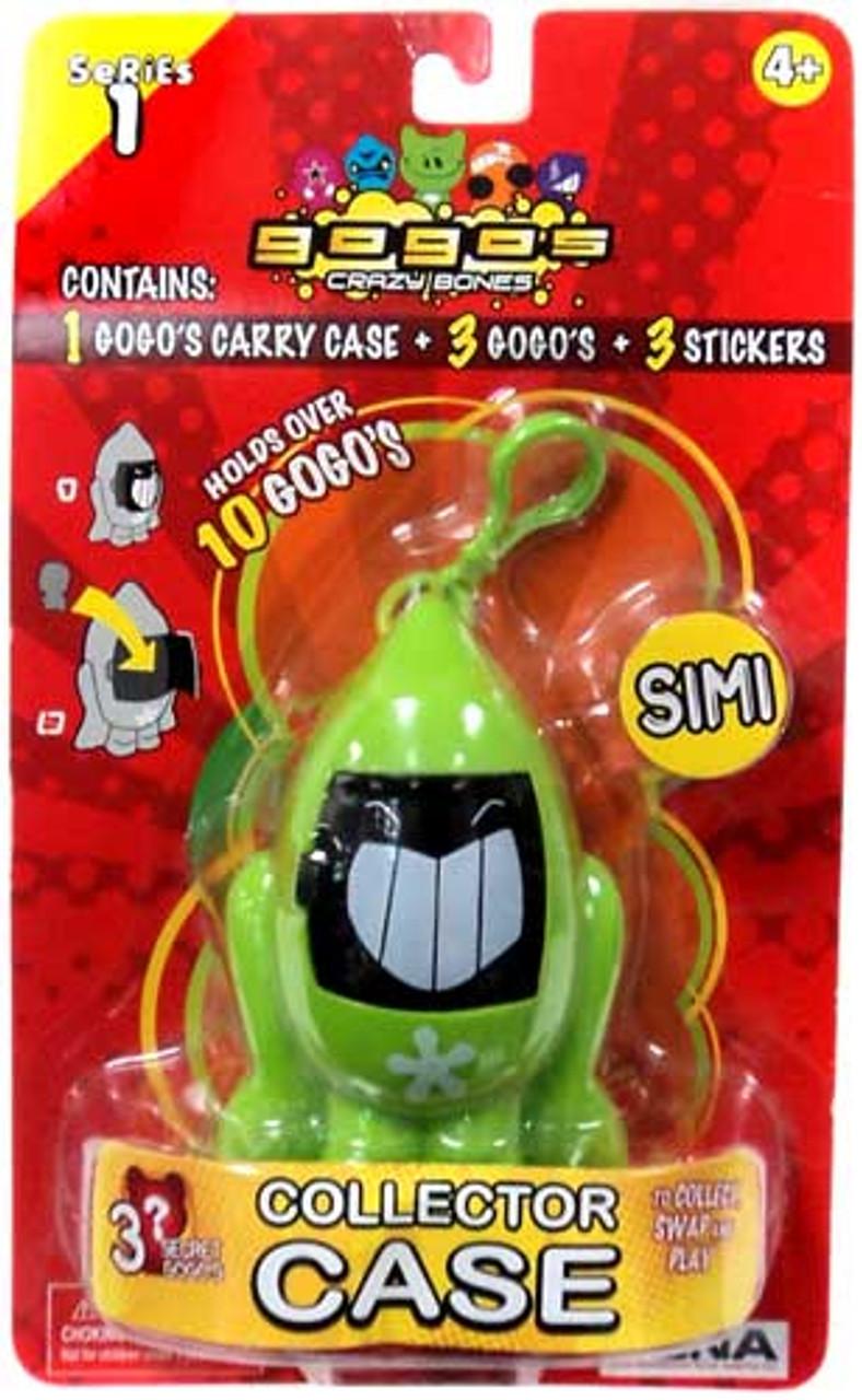 Crazy Bones Gogo's Series 1 Simi Collector Case [Green]