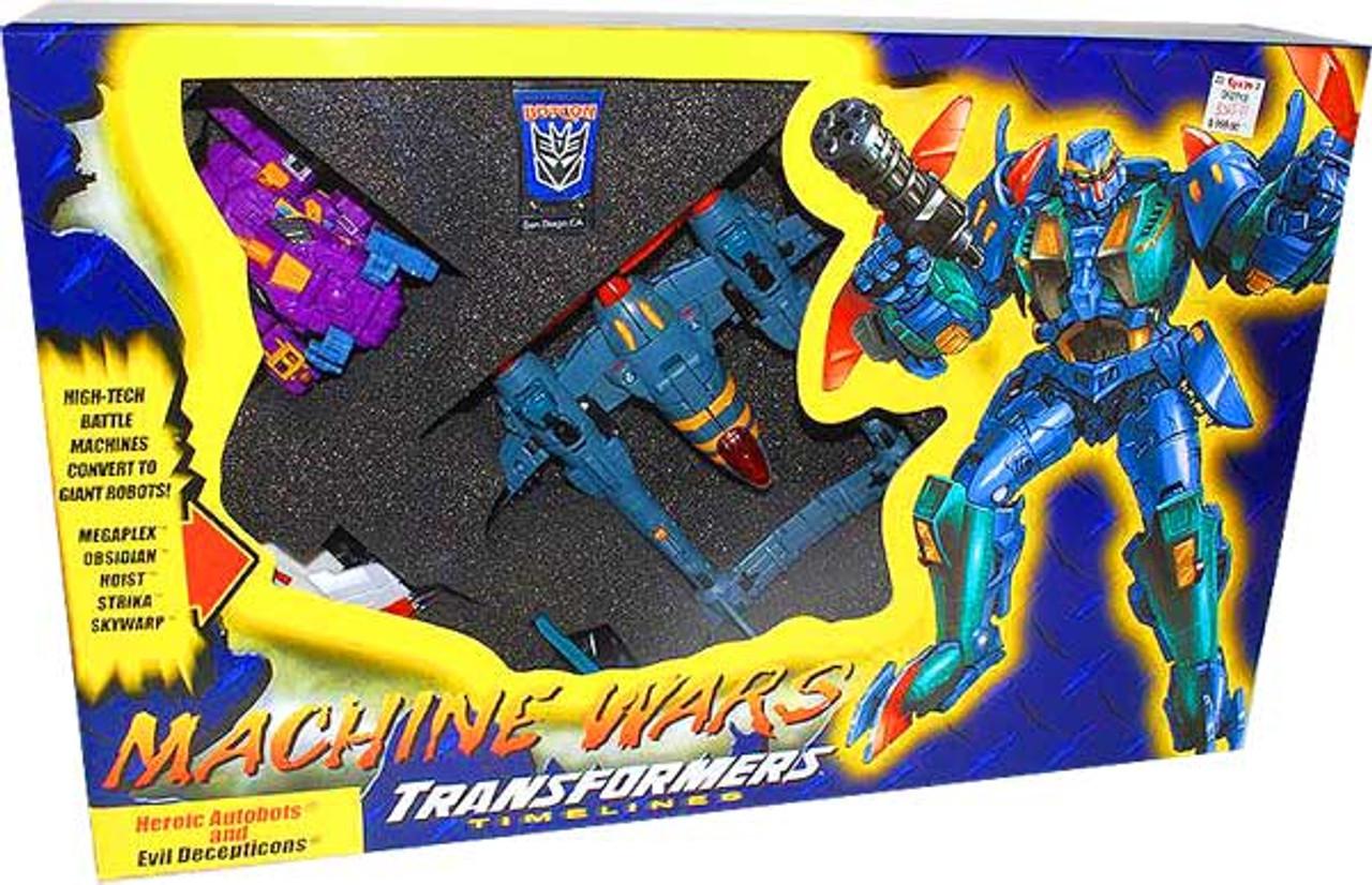 Transformers Timelines Botcon Exclusives Machine Wars Exclusive Action Figure Set