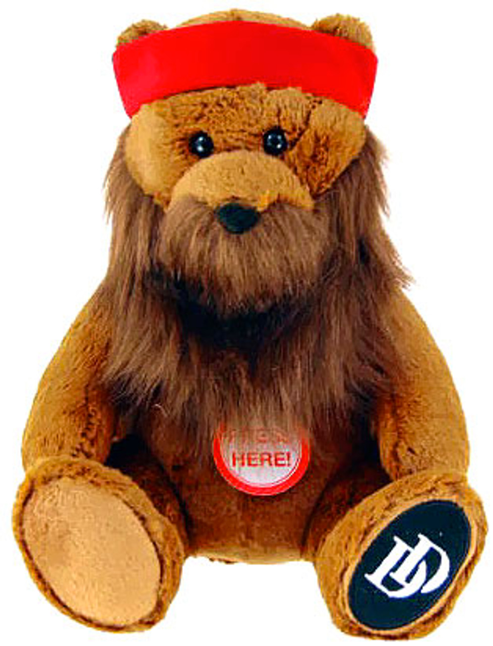Duck Dynasty Bears with Beards Willy 8-Inch Plush [With Sound]
