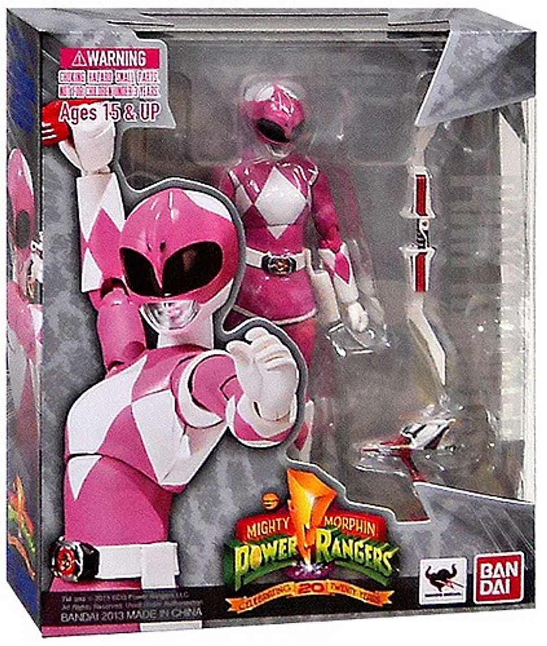 Power Rangers Mighty Morphin S.H. Figuarts Pink Ranger Action Figure
