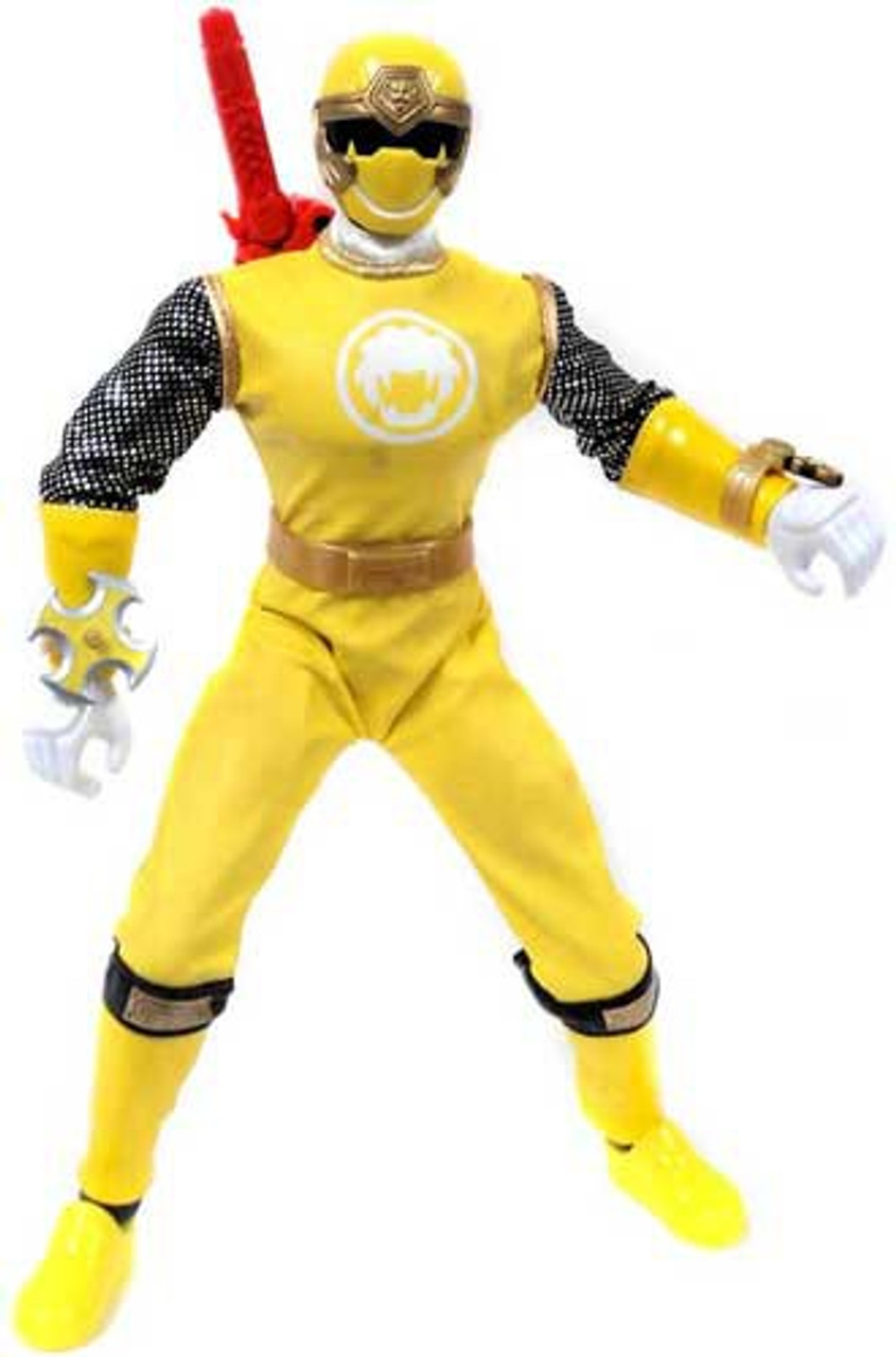Power Rangers Ninja Storm Yellow Wind Ranger 12 Inch Action Figure [Loose]