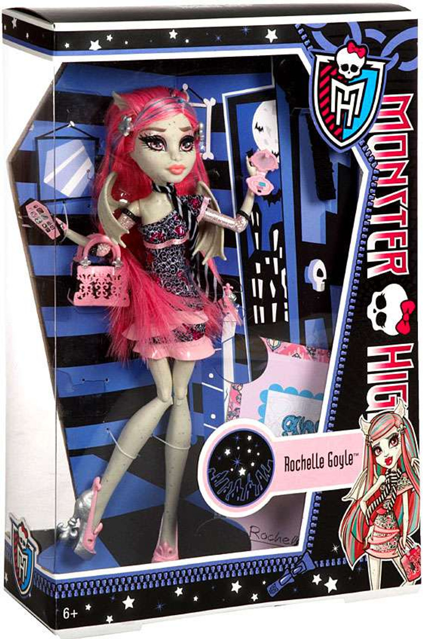 Monster High Ghoul's Night Out Rochelle Goyle 10.5-Inch Doll
