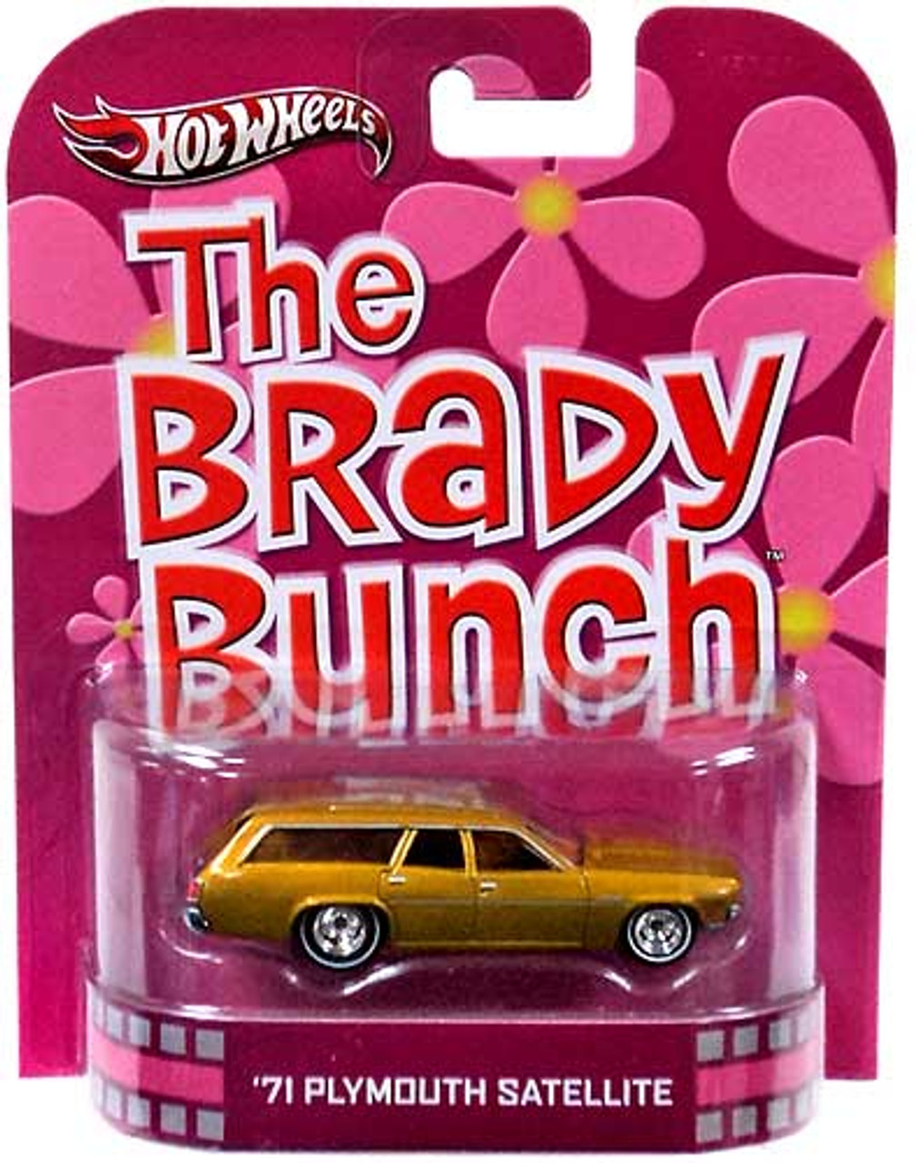 The Brady Bunch Hot Wheels Retro '71 Plymouth Satellite Diecast Vehicle
