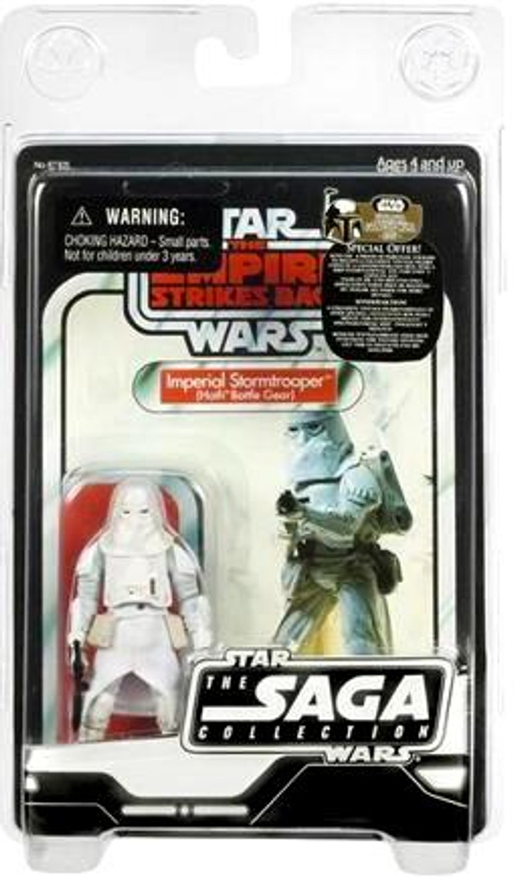 Star Wars Empire Strikes Back Saga Collection 2007 Vintage Snowtrooper Action Figure