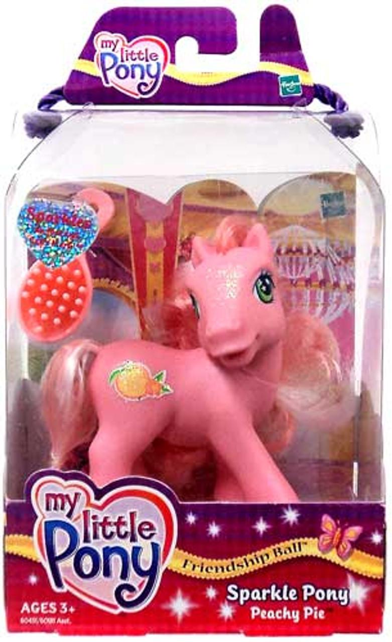 My Little Pony Friendship Ball Sparkle Pony Peachy Pie Figure
