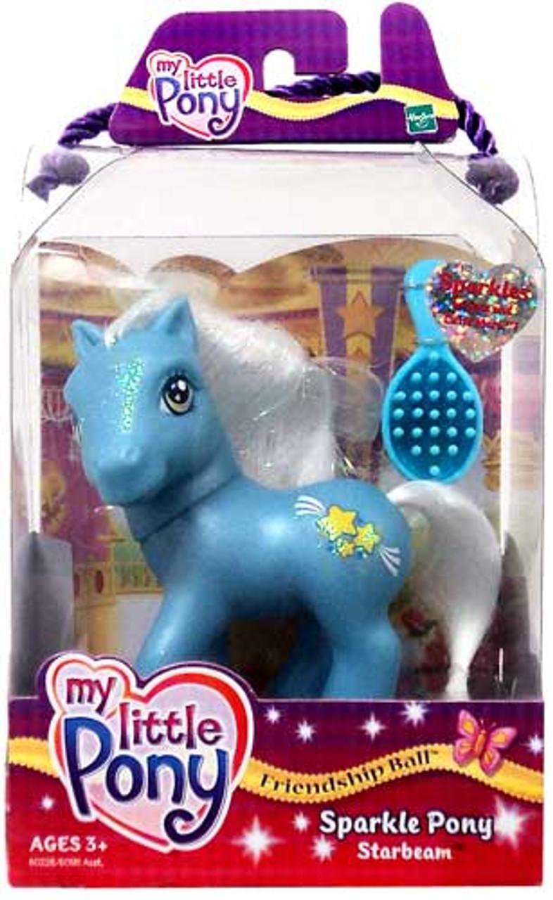 My Little Pony Friendship Ball Sparkle Pony Starbeam Figure