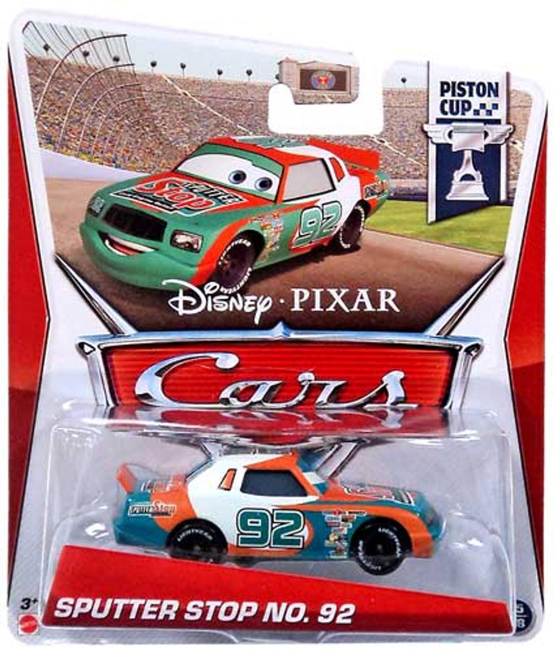 Disney Cars Series 3 Sputter Stop No. 92 Diecast Car