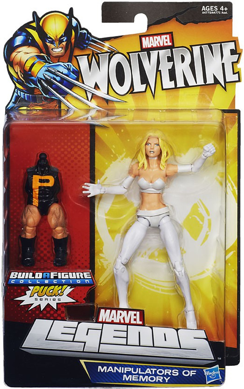 Wolverine Marvel Legends Puck Series Emma Frost Exclusive Action Figure