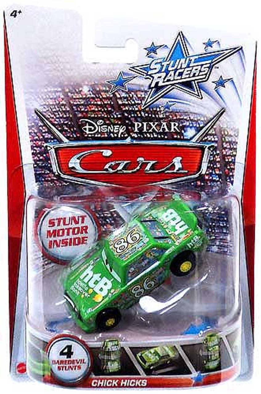 Disney Cars Stunt Racers Chick Hicks Plastic Car