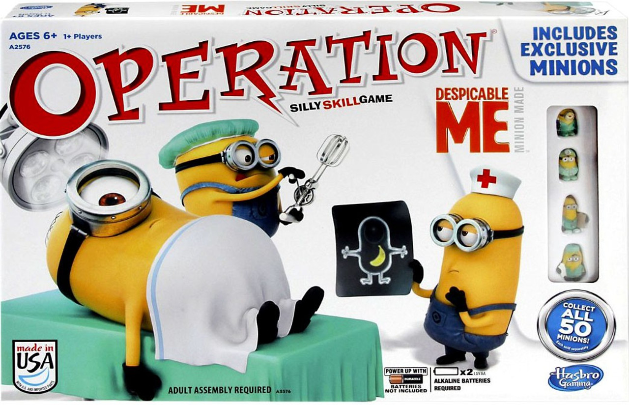 Despicable Me 2 Operation Board Game