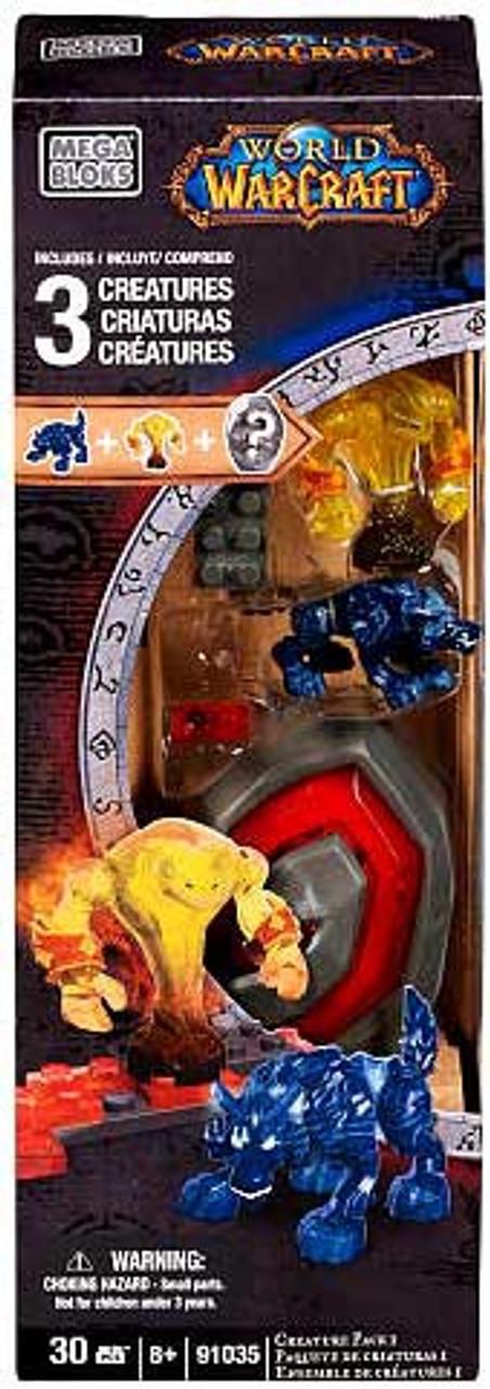 Mega Bloks World of Warcraft Creature Pack #1 Set #91035