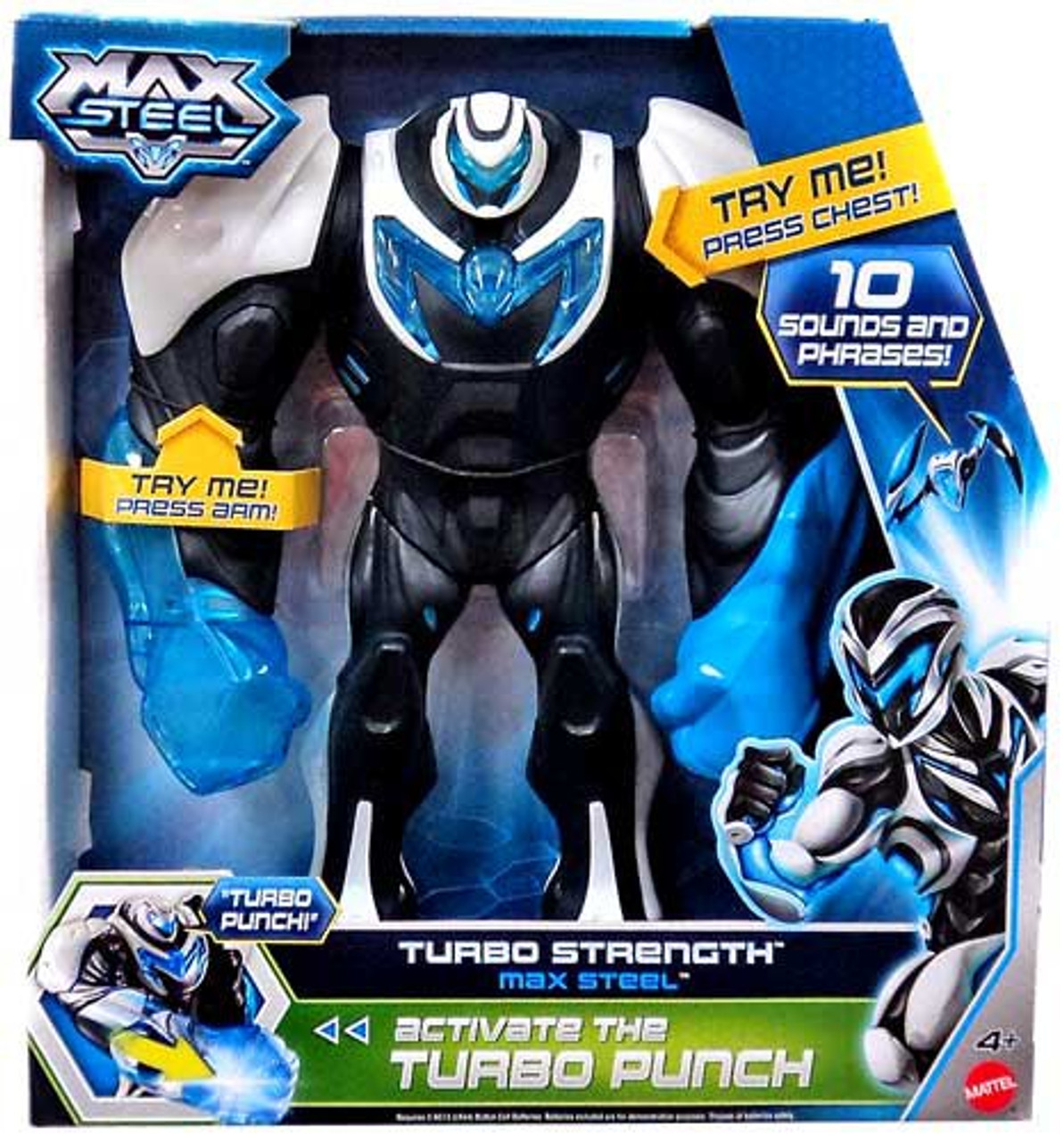 Max Steel Figure [Turbo Strength]