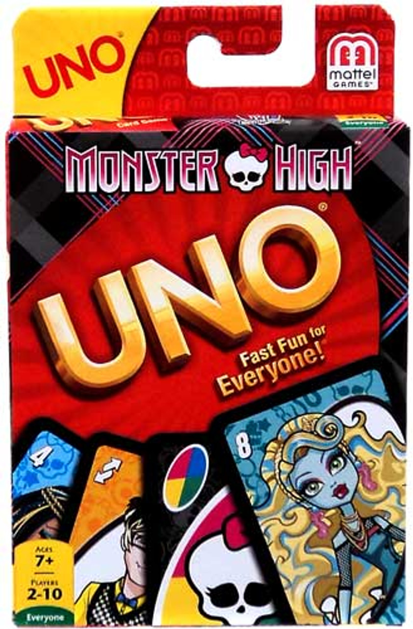 Monster High UNO 10.5-Inch Card Game