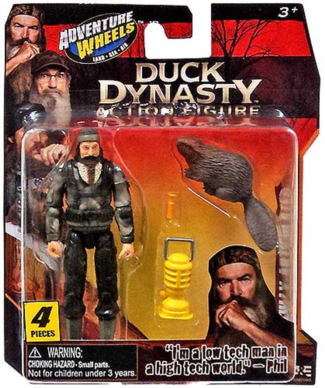 Duck Dynasty Adventure Wheels Phil Action Figure