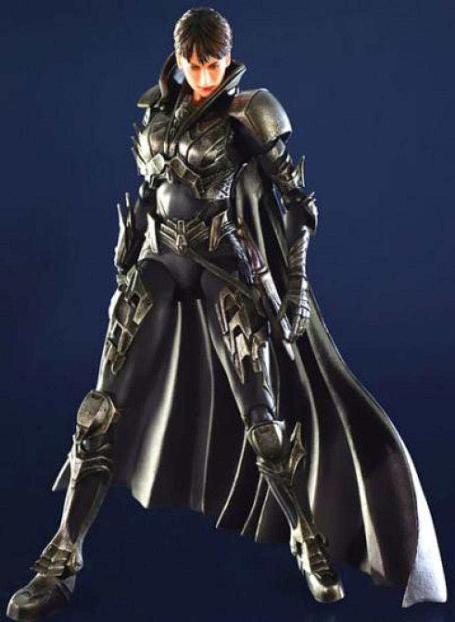 Superman Man of Steel Play Arts Kai Faora Action Figure