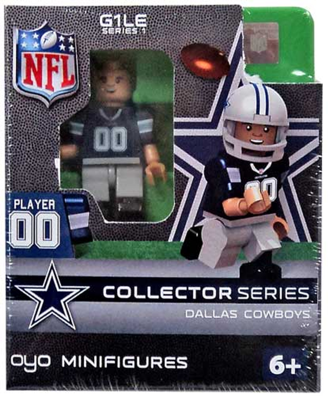 NFL Generation 1 Series 1 Dallas Cowboys Collector Series Figure Minifigure