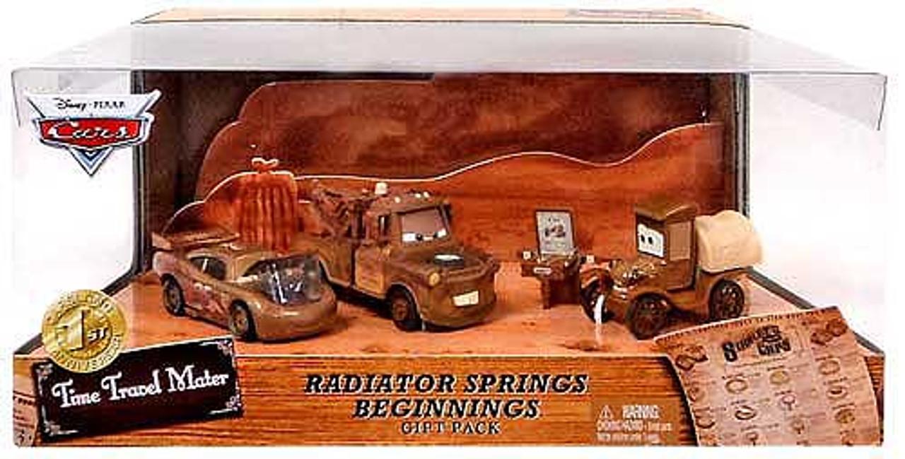 Disney Cars Multi-Packs Radiator Springs Beginnings Gift Pack Exclusive Diecast Car Set