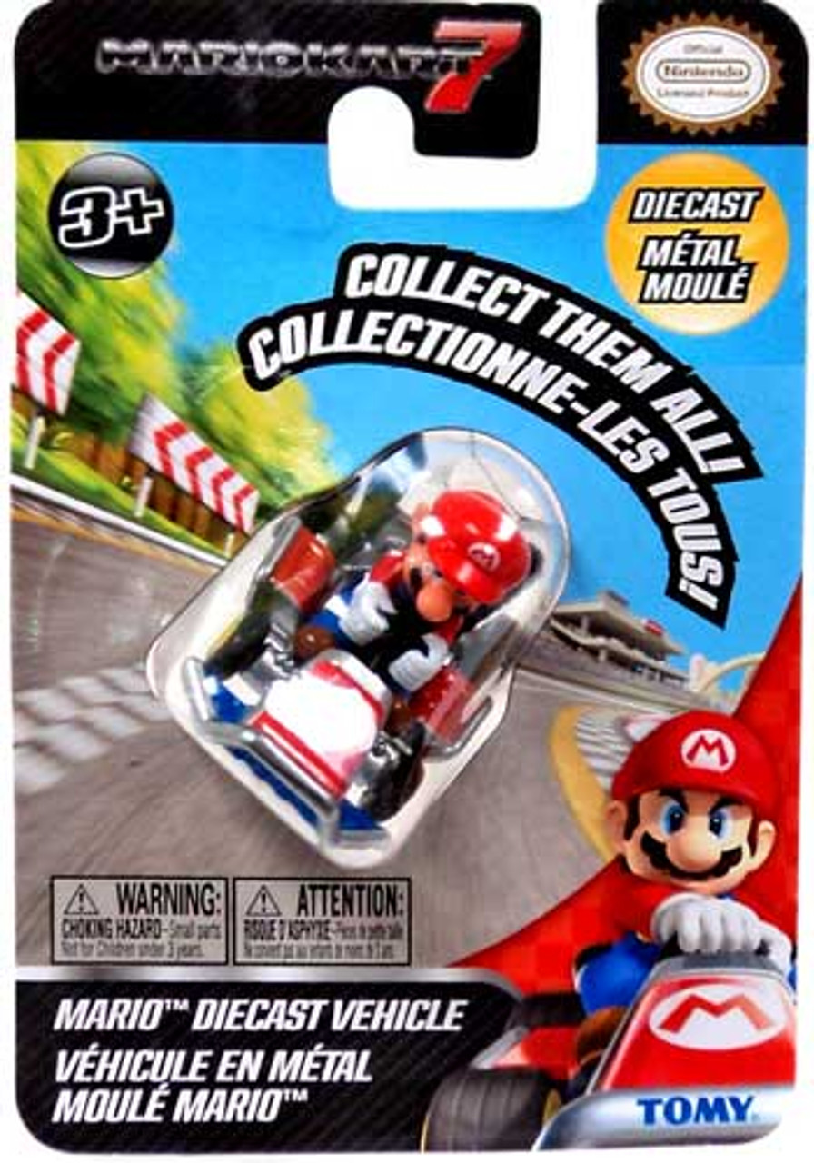 Super Mario Mario Kart 7 Mario Diecast Vehicle