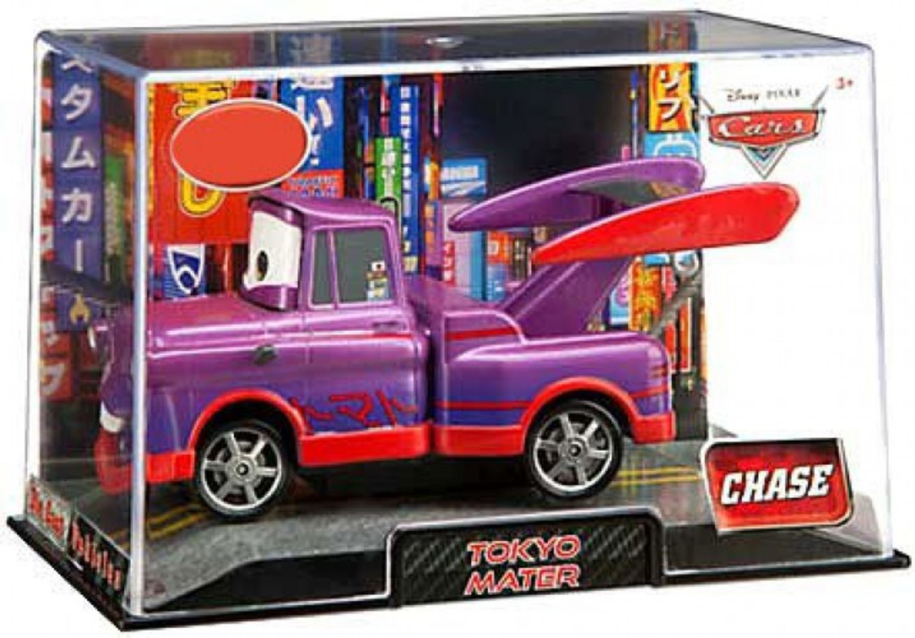 Disney Cars 1:43 Collectors Case Tokyo Mater Exclusive Diecast Car [Purple]