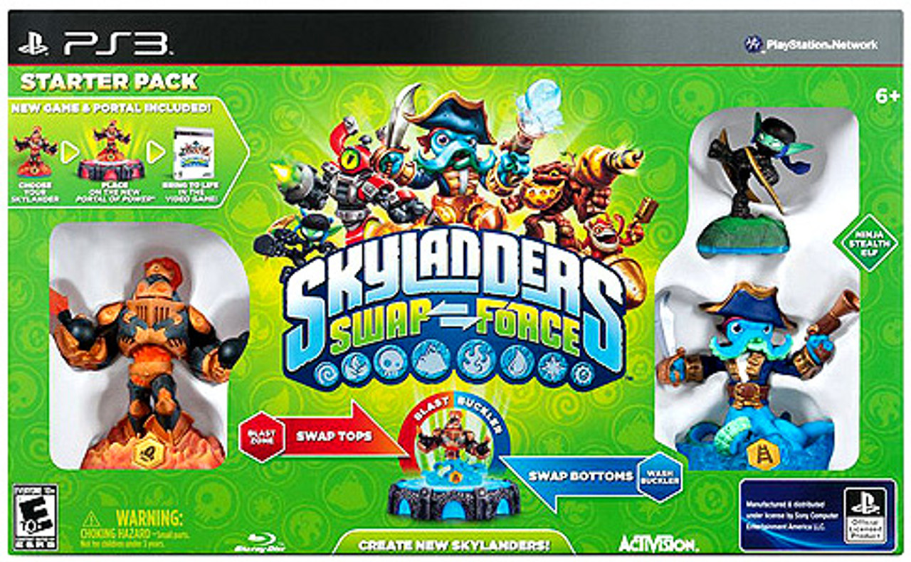 Skylanders PS3 Swap Force Starter Pack [PS3]