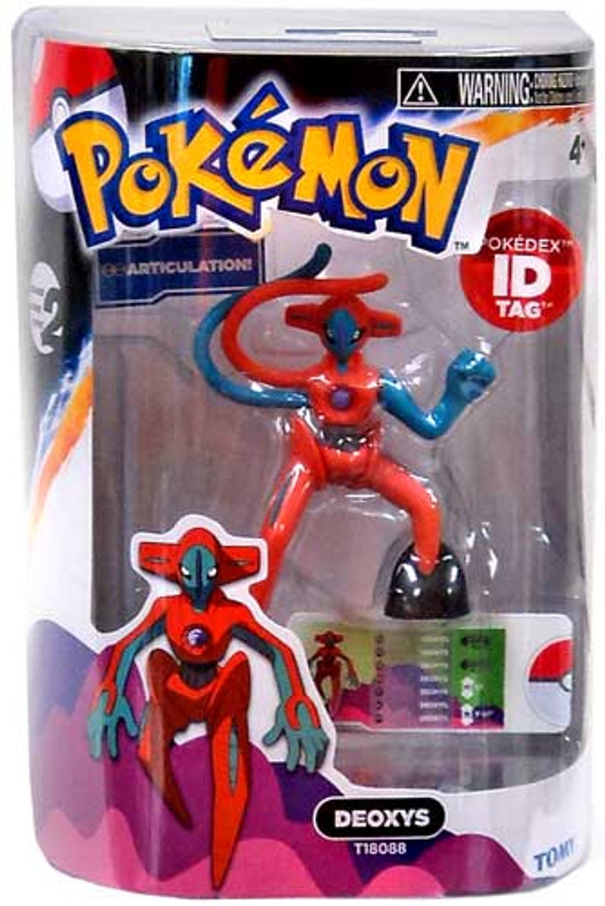 Pokemon Black & White Legendary Series Deoxys 4-Inch Figure
