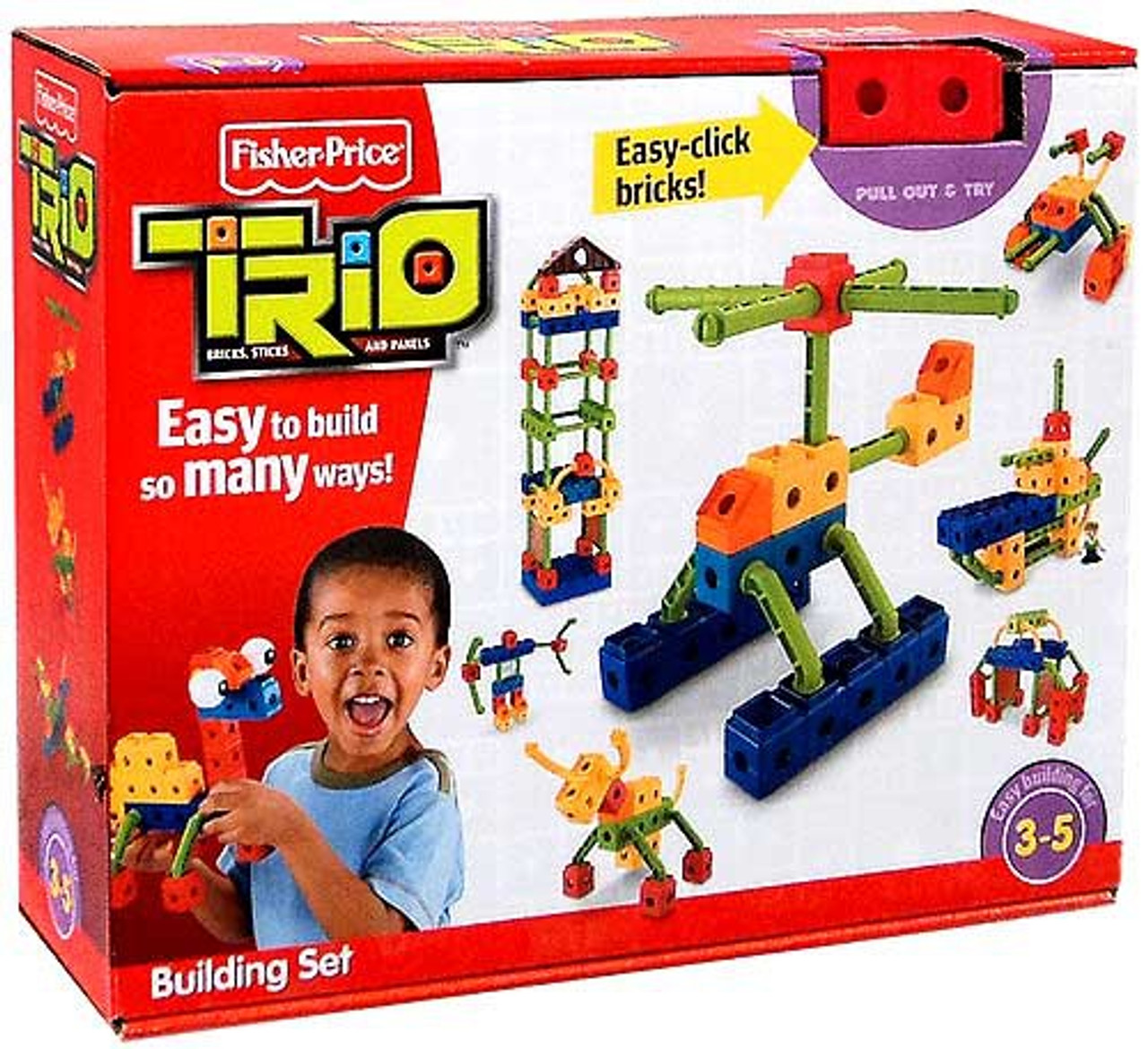 Fisher Price TRIO Building Set