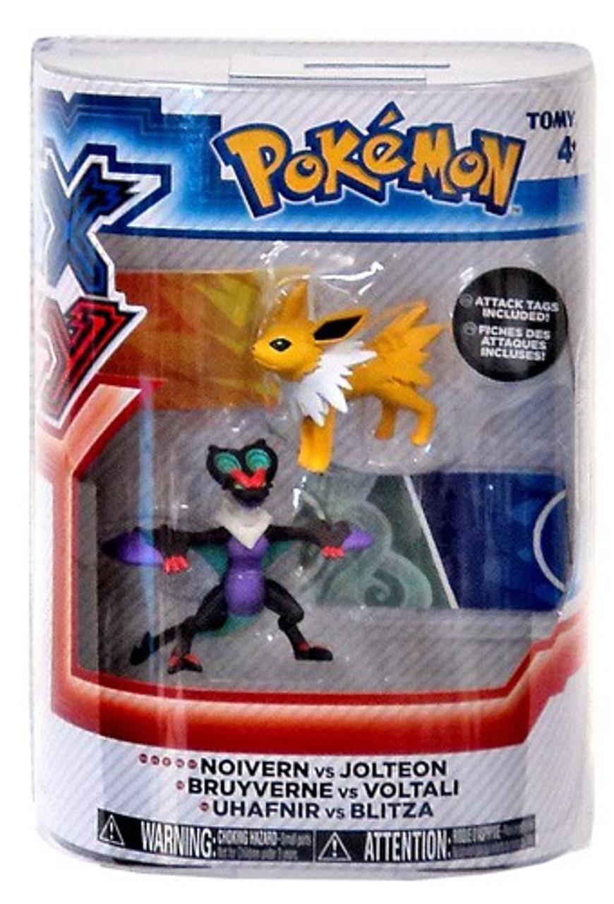 Pokemon XY Basic Noivern & Jolteon Figure 2-Pack