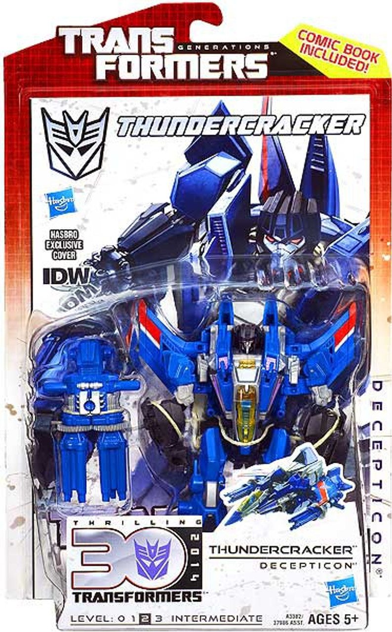 Transformers Generations 30th Anniversary Deluxe IDW Thundercracker Deluxe Action Figure