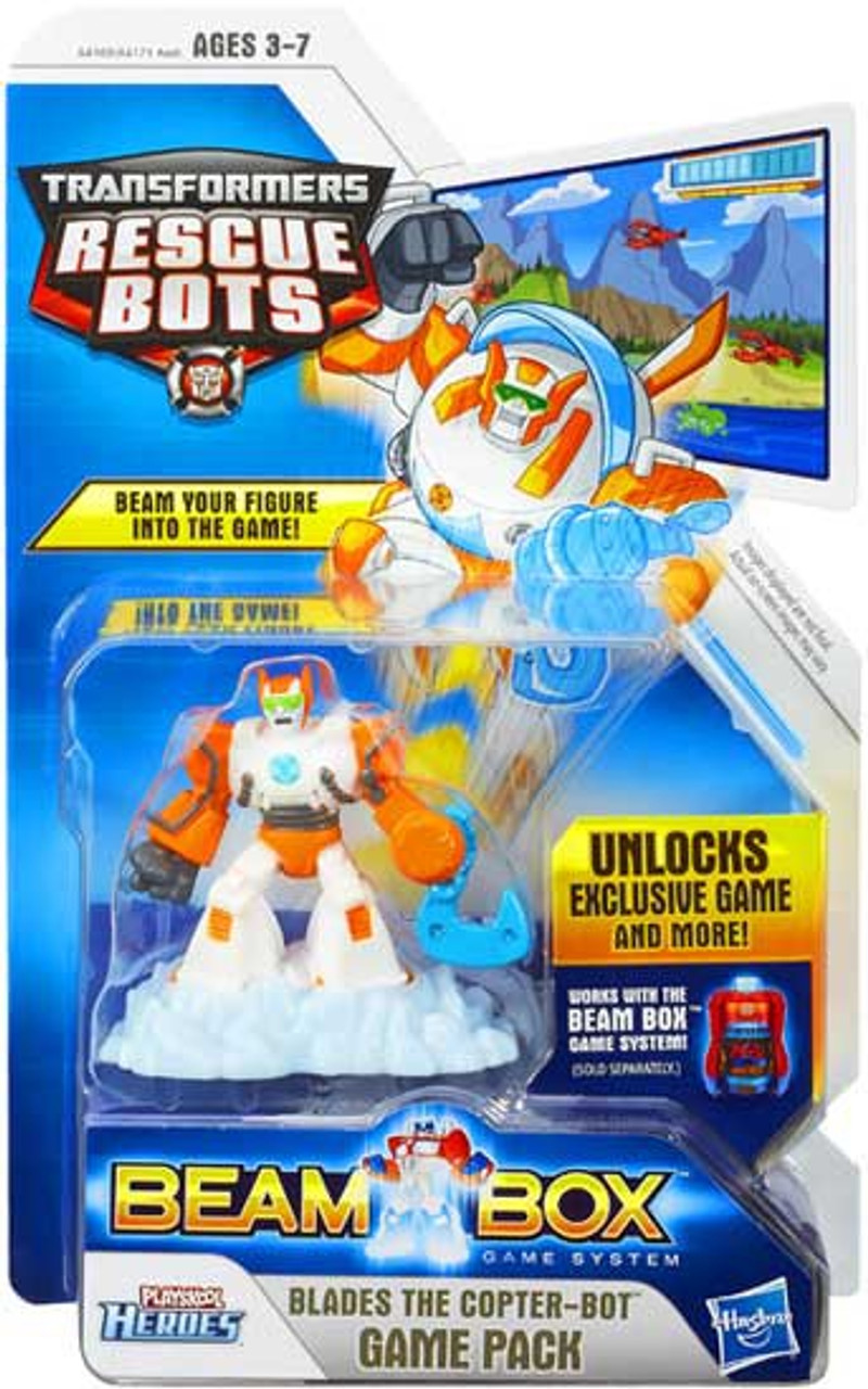 Transformers Rescue Bots Playskool Heroes Blades Game Pack