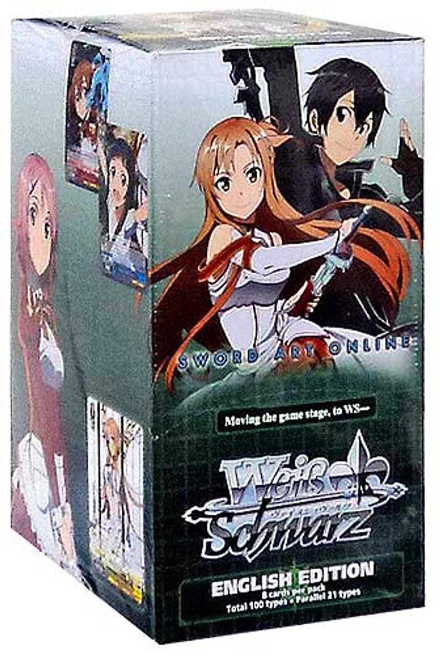 Weiss Schwarz Sword Art Online Vol. 1 Booster Box [20 Packs]