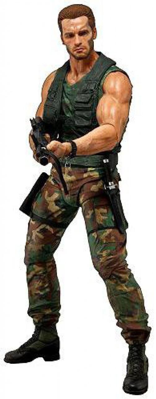 NECA Predator Quarter Scale Jungle Patrol Dutch Action Figure