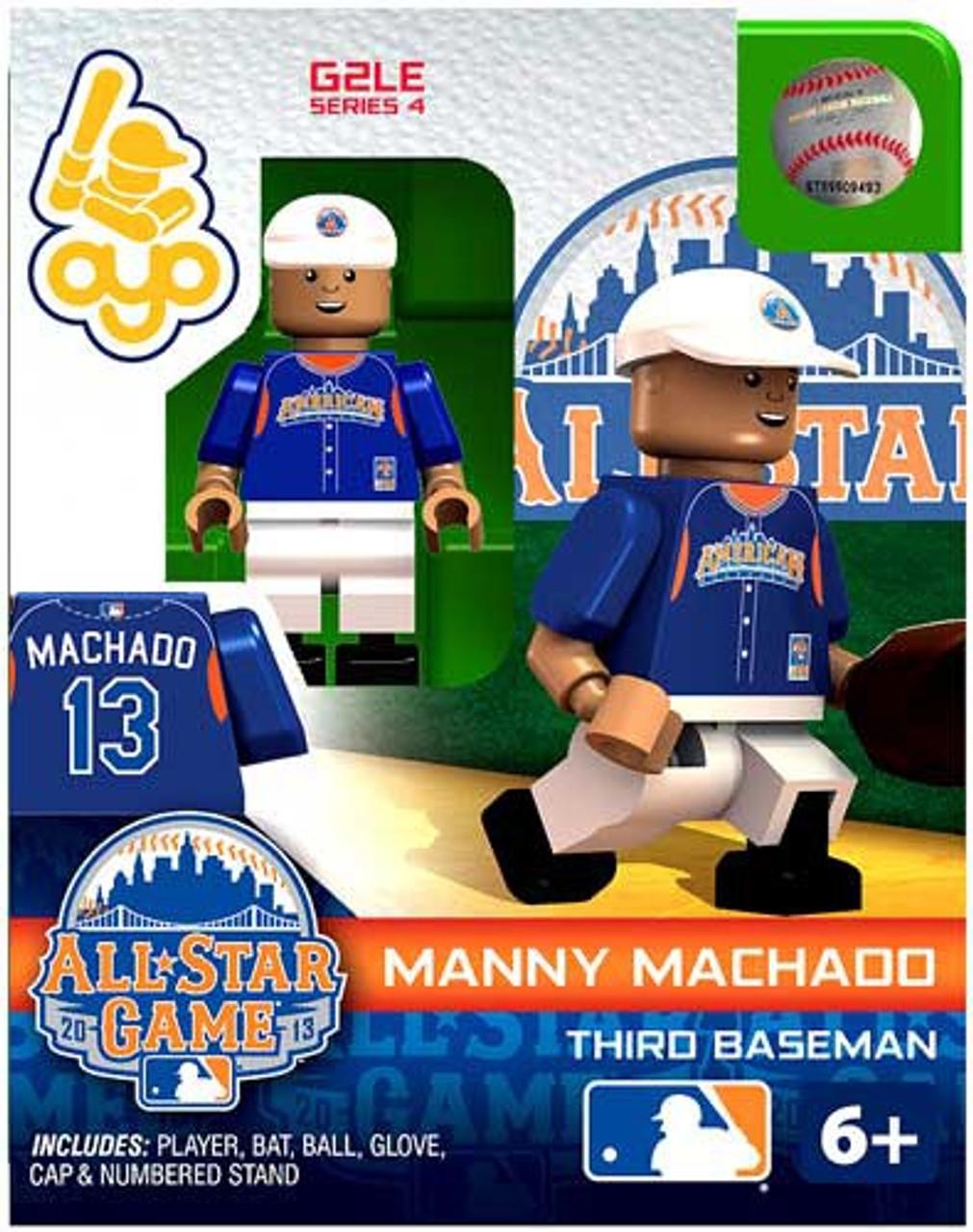 American League MLB Generation 2 Series 4 Manny Machado Minifigure [All-Star Game]