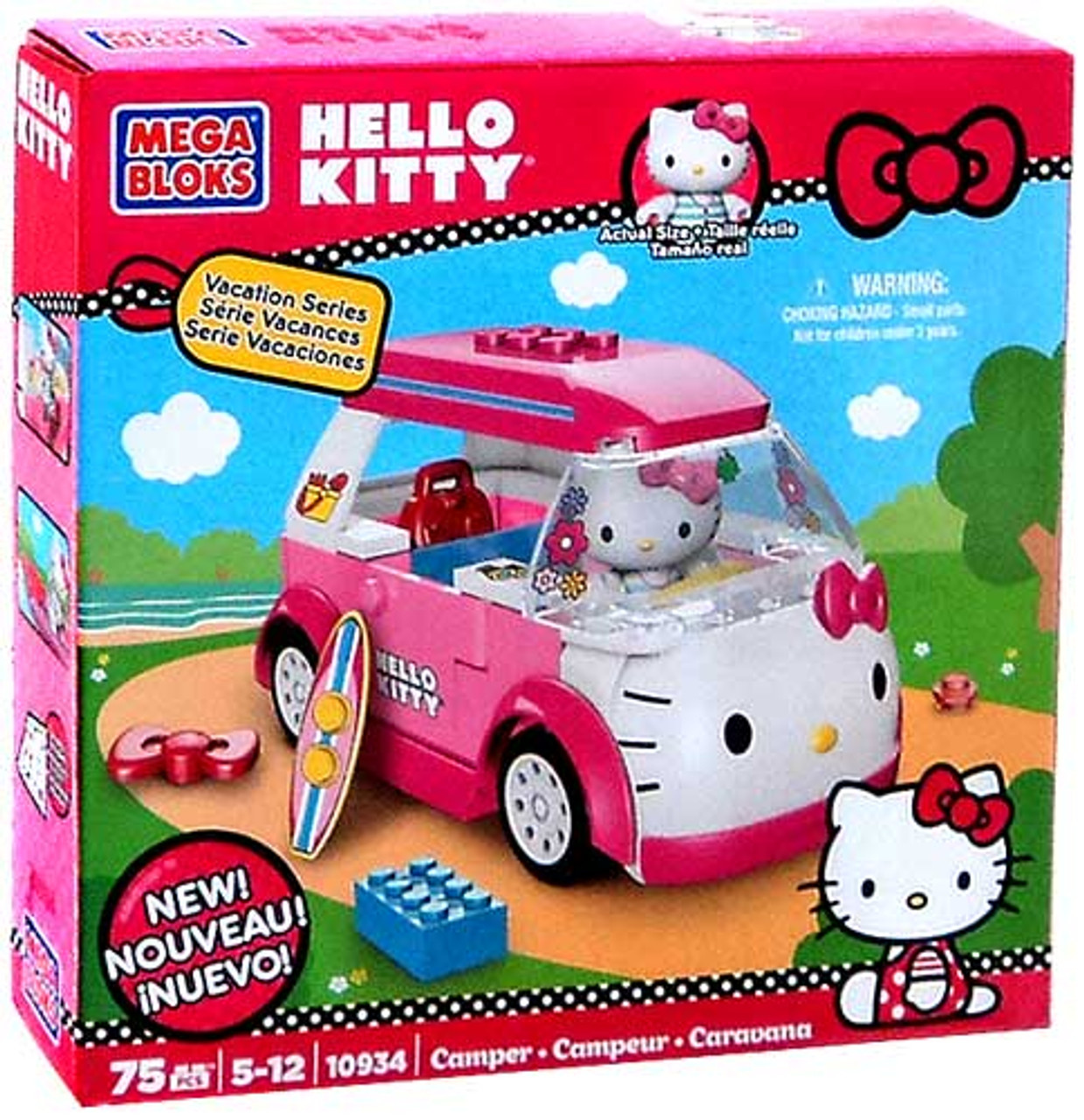 Mega Bloks Hello Kitty Vacation Series Camper Set #10934