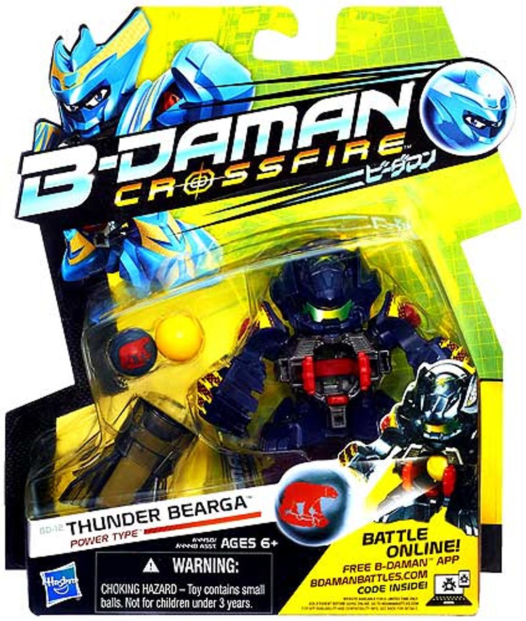 B-Daman Crossfire Thunder Bearga Figure BD-12 [Power Type]