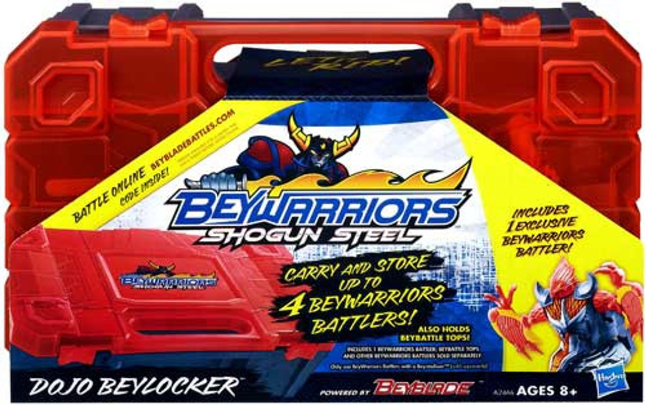 Beyblade Beywarriors Shogun Steel Dojo Beylocker Carrying Case