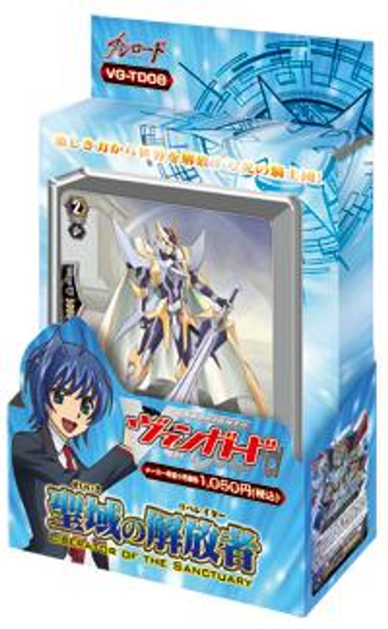 Cardfight Vanguard Liberator of the Sanctuary Trial Deck VGE-TD08