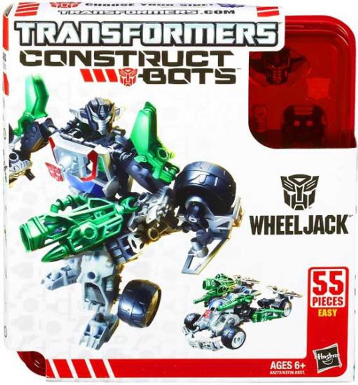 Transformers Construct-A-Bots Wheeljack Action Figure