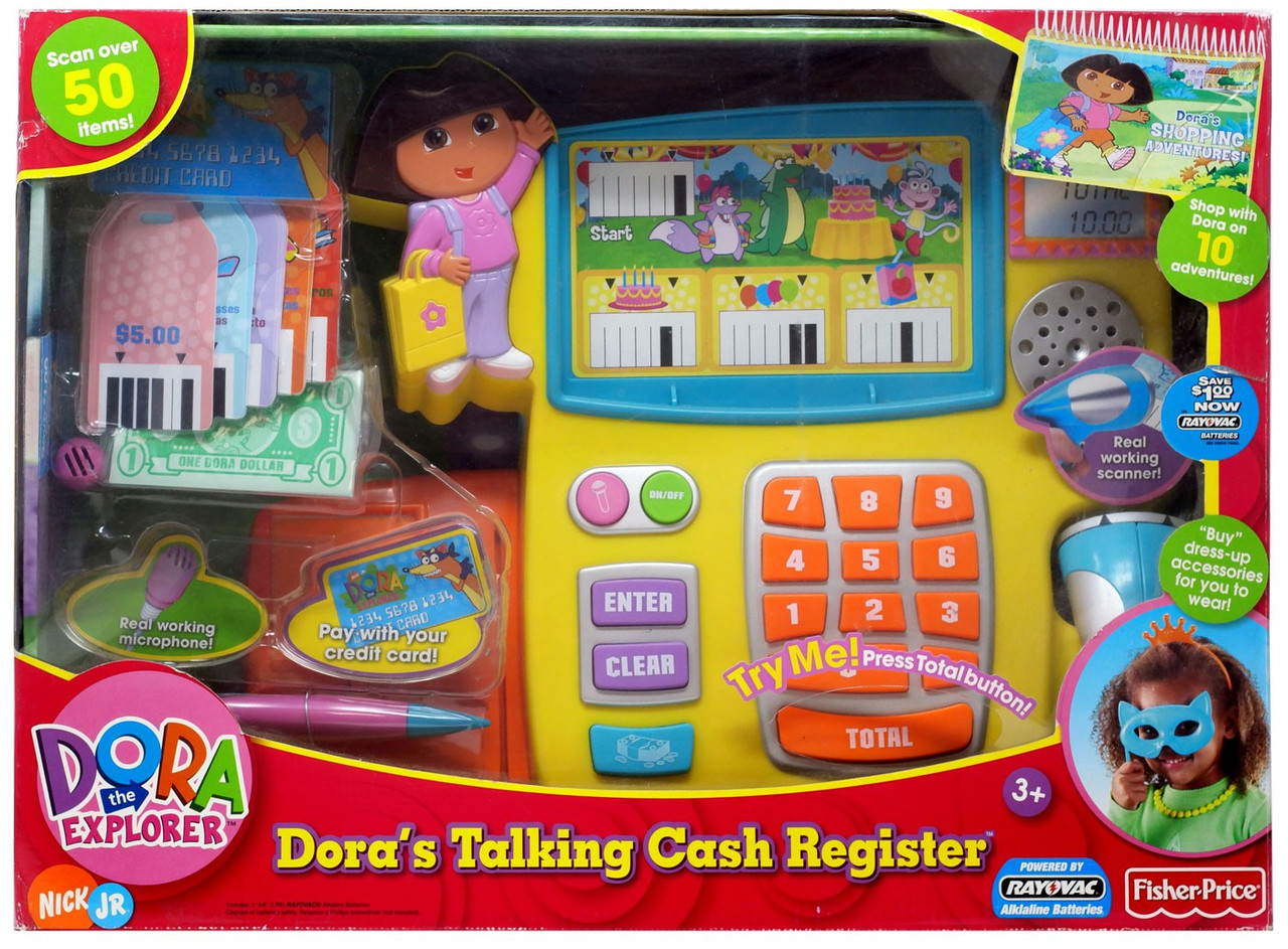 Fisher Price Dora the Explorer Dora's Talking Cash Register