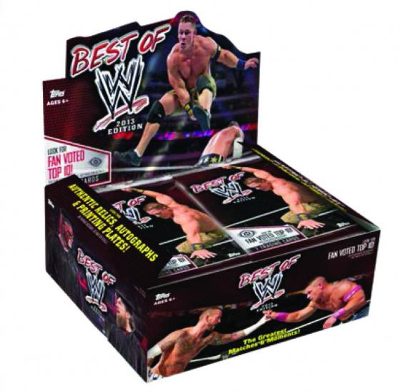 WWE Wrestling 2013 Best of WWE Trading Card Box