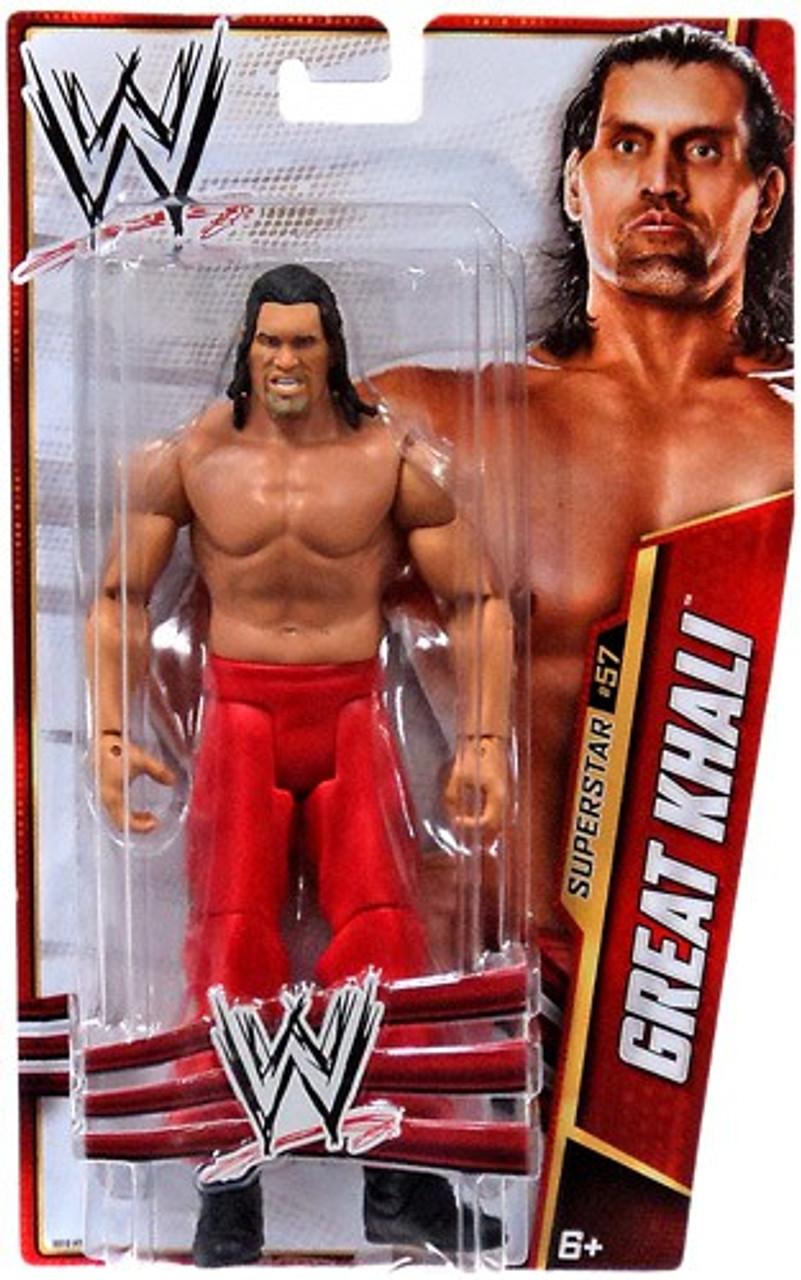 WWE Wrestling Series 33 Great Khali Action Figure #57
