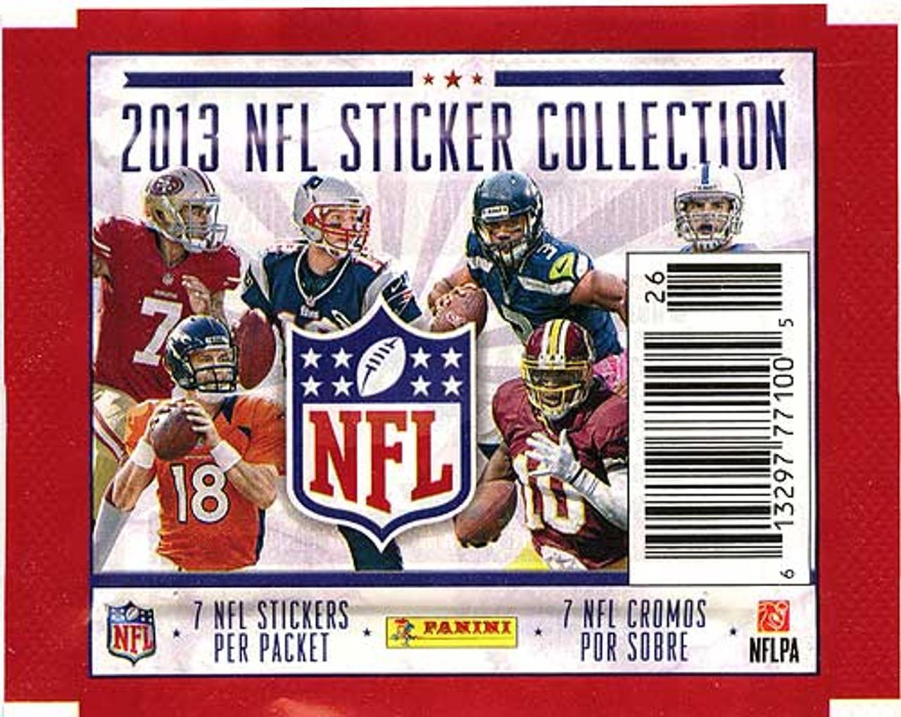 2013 NFL Sticker Collection Sticker Pack