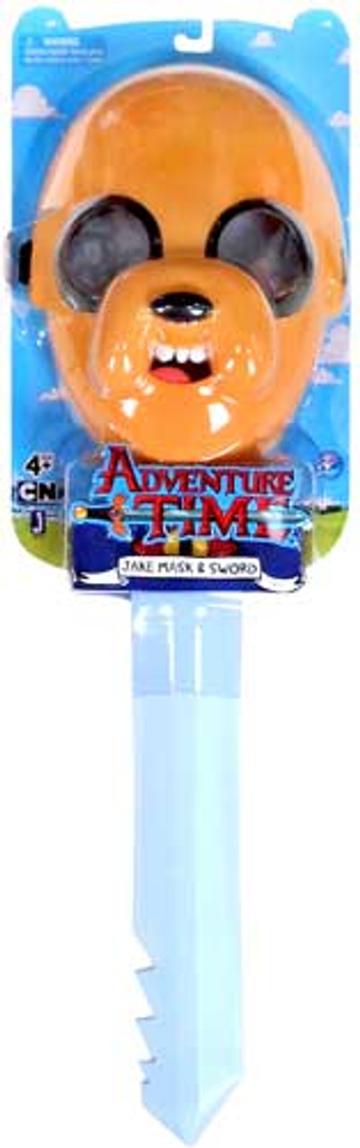 Adventure Time Jake Sword & Mask 24-Inch Roleplay Toy