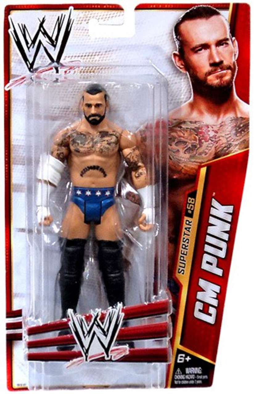 WWE Wrestling Series 33 CM Punk Action Figure #58