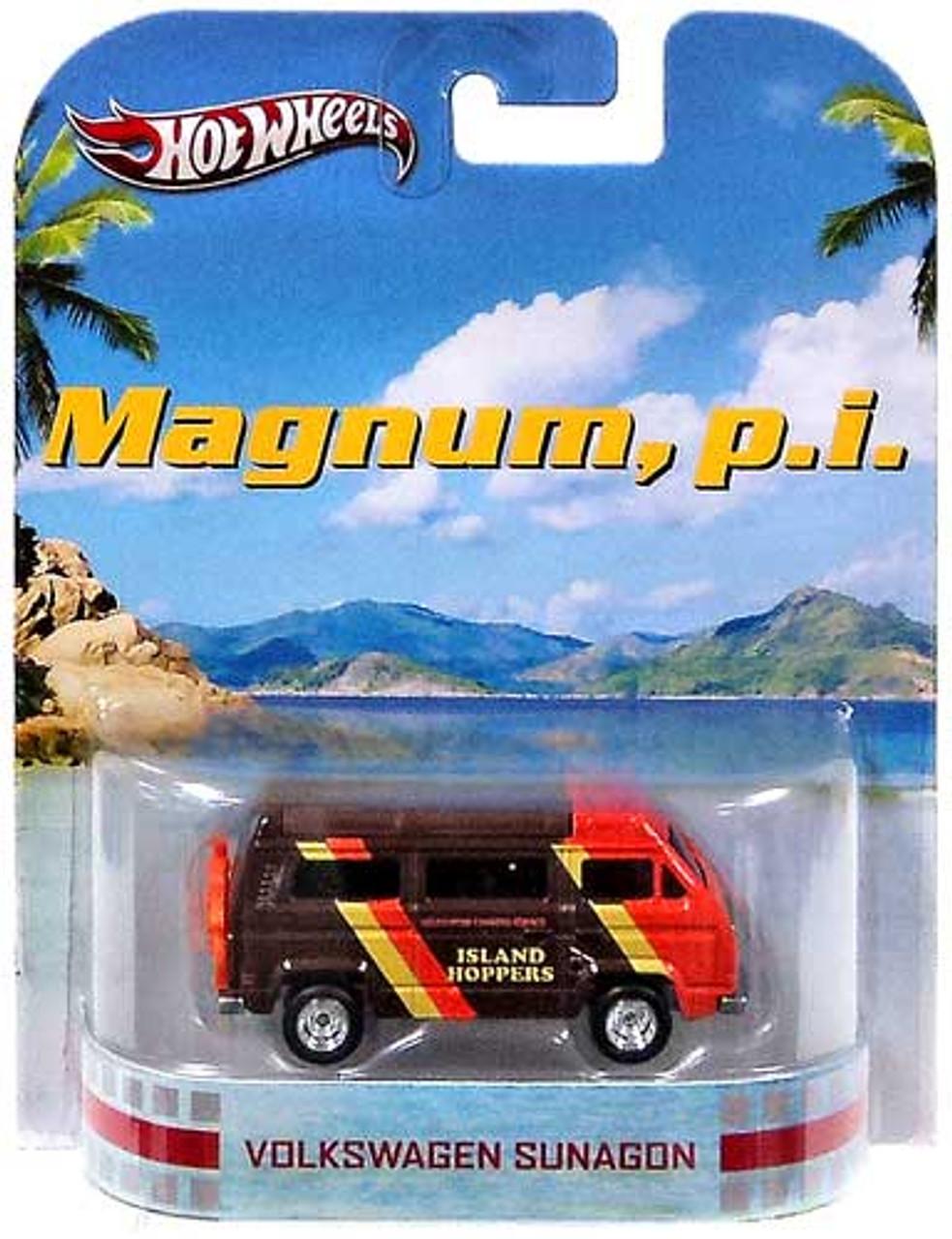 Magnum, P.I. Hot Wheels Retro Volkswagen Sunagon Diecast Vehicle