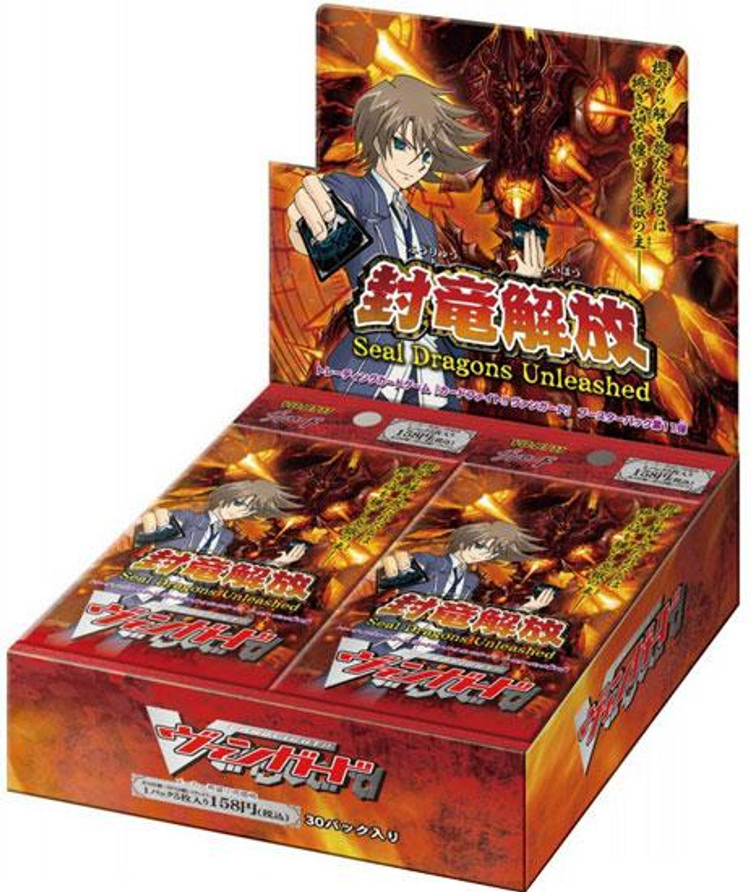 Cardfight Vanguard Seal Dragons Unleashed Booster Box VGE-BT11 [30 Packs]