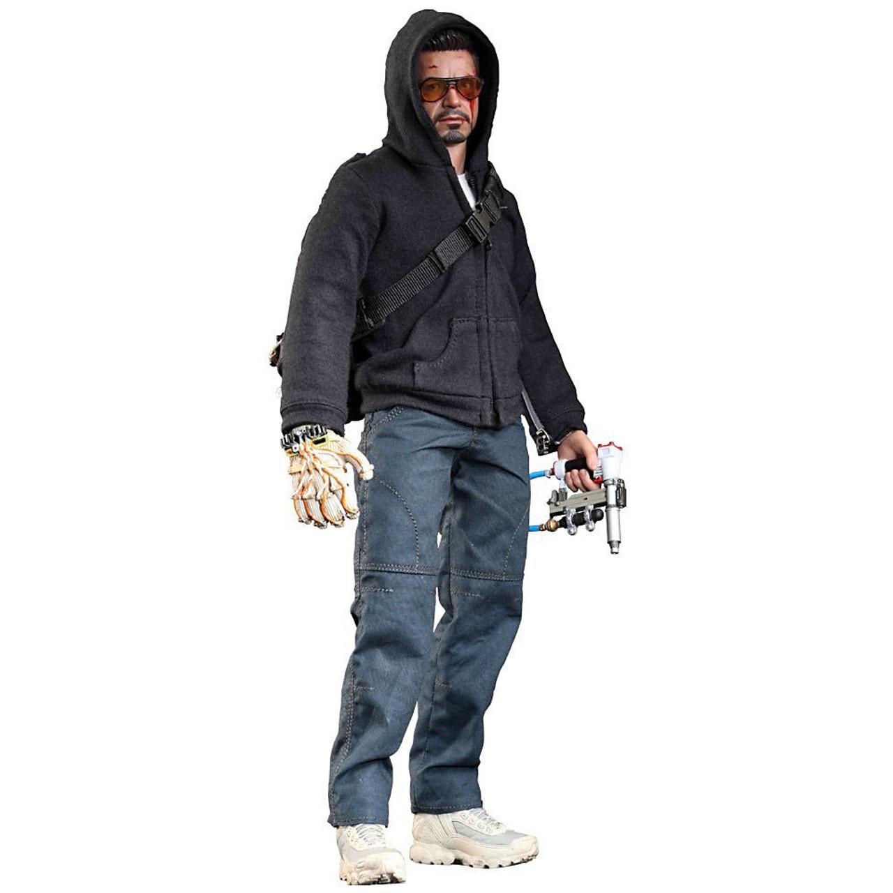 Iron Man 3 Movie Masterpiece Tony Stark 1/6 Collectible Figure [The Mechanic]