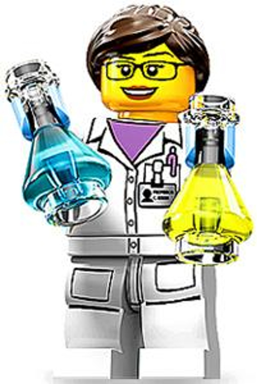 LEGO Minifigures Series 11 Scientist Minifigure [Loose]