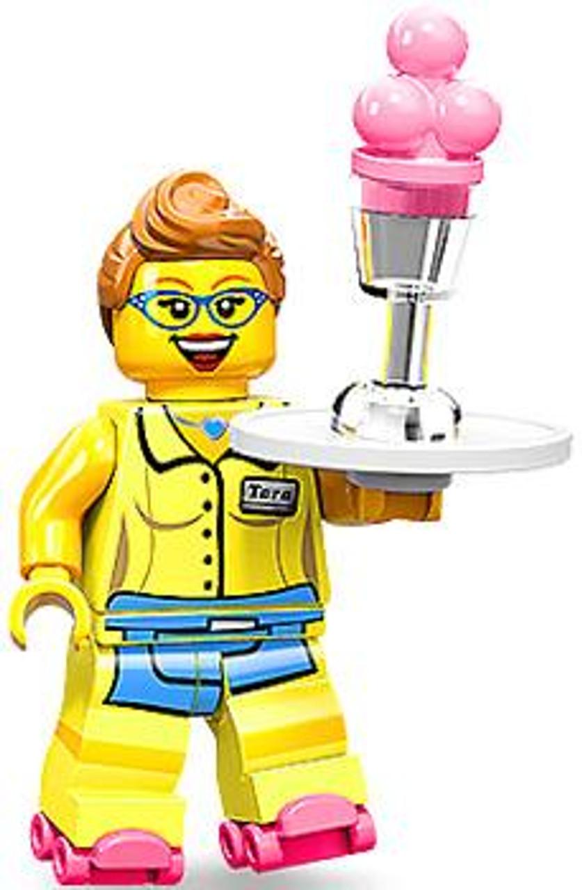 LEGO Minifigures Series 11 Diner Waitress Minifigure [Loose]