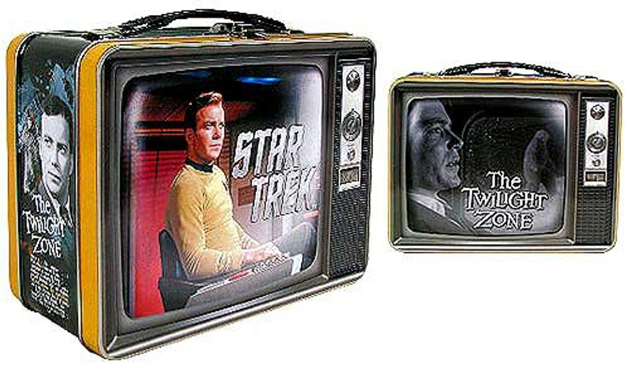 Star Trek / The Twilight Zone The Captain & The Passenger Tin Tote Set