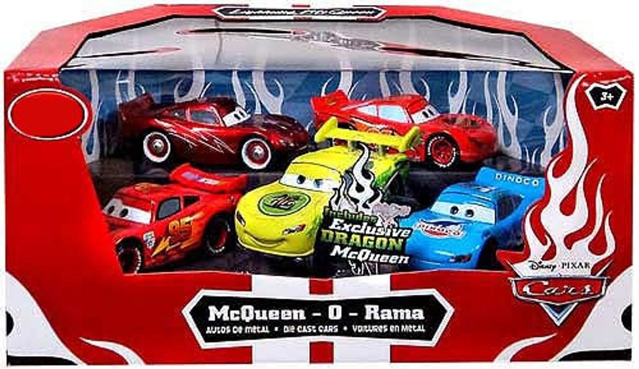 Disney Cars 1:48 Multi-Packs McQueen-O-Rama Exclusive Diecast Car Set [Set #2]